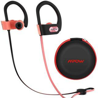 2226) Mpow Flame Bluetooth Headphones Sport IPX7 (pink)