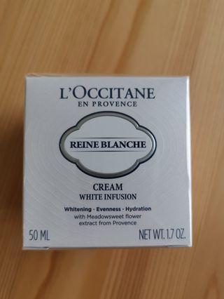 L'occitane Reine Blanche Cream White Infusion