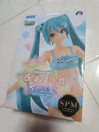 Super Premium Figure: Hatsune Miku - Graduation Resort