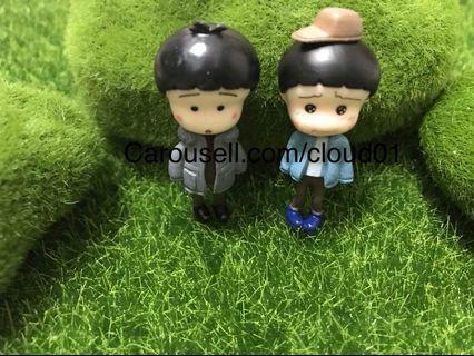 Terrarium decoration / terrarium / couple / figurine