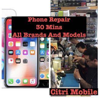 iPhone 6 7 8 Plus X XR XS Repair, Samsung Phone Repair