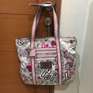COACH TOTE BAG POPPY SERIES (LIMITED EDITION!!!!) 100% ORIGINAL
