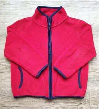 Uniqlo Kids Fleece Jacket (110)