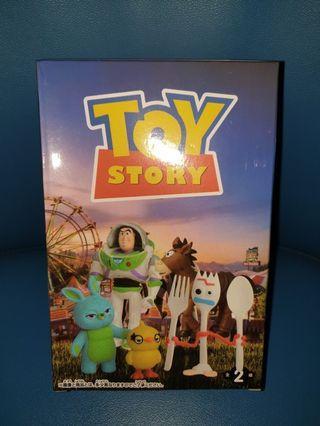 toy story 玩具總動員 叉子 景品 公仔 玩具
