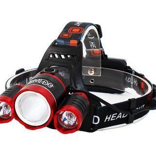 2231) EMIDO Zoomable LED Headlamp,4 Modes Super Bright Headlight
