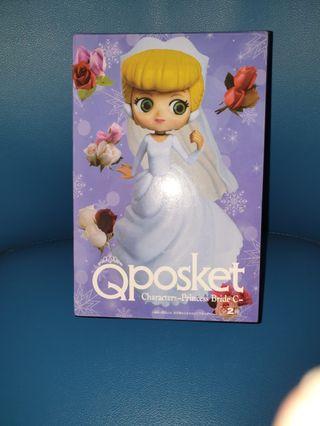 Qposket characters-Princess Bride C 婚紗版 無證 公仔 景品