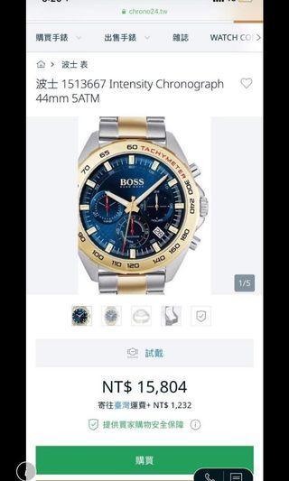 售 正品boss手錶鋼錶帶