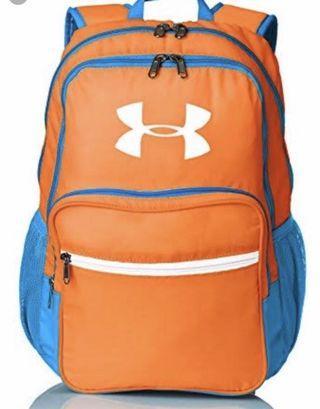 Tas Ransel Under Armour HOF backpack blaze orange warerproof