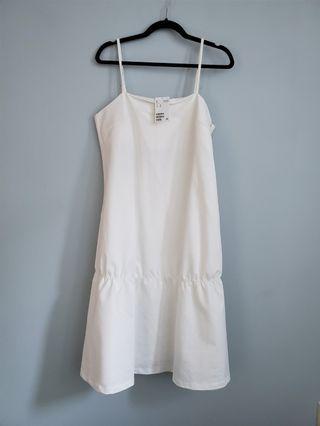 White H&M dress (size 10)
