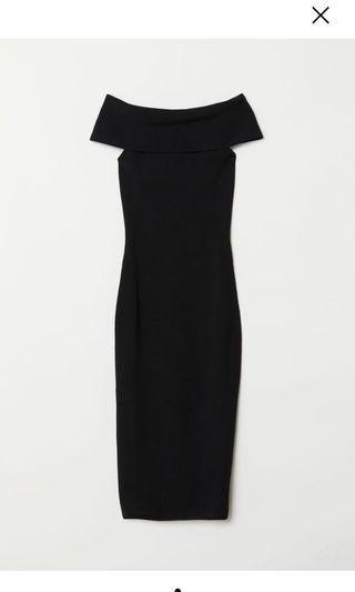 BNWT H&M Off-The-Shoulder Dress