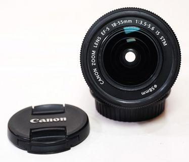 Canon EF-S 18-55mm F3.5-5.6 IS STM Good Condition