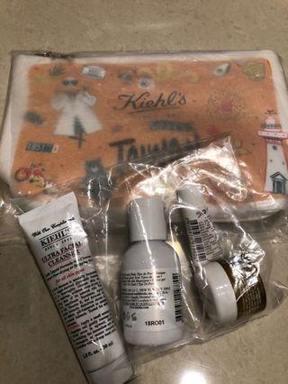 契爾式kiehl's旅行組 含化妝包 全新