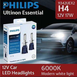 Genuine Philips Led H4 Headlight Bulb Also in H7 H8 H11 HB3 9005 HB4 9006 not hid