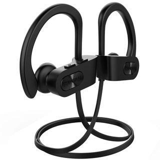 2234) Mpow Flame Bluetooth Headphones Waterproof IPX7 - BLACK