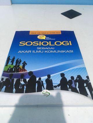 Sosiologi sebagai akar ilmu komunikai