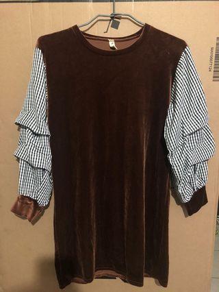 復古風洋裝