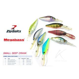 New & cheap for these original Japanese small deep dive crankbait.