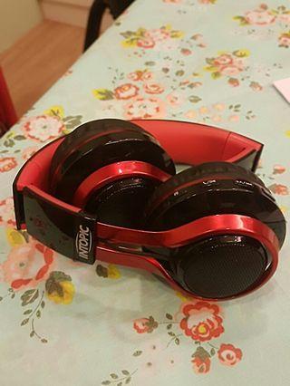 intopic 折疊 耳罩 藍芽 耳機  無線 bluetooth