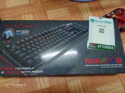 [COMBO SALE] Gamingfreak MXRGB9 + Tesoro Olivant