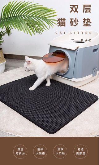 貓砂落砂墊