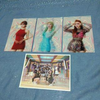 twice official cards