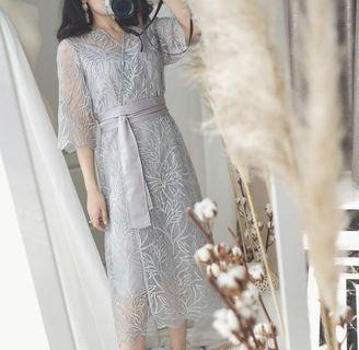 SILVER DRESS NEW with Tag