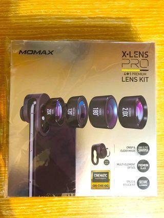 MOMAX X-Lens Pro 摩米士4合1專業版手機鏡頭套裝