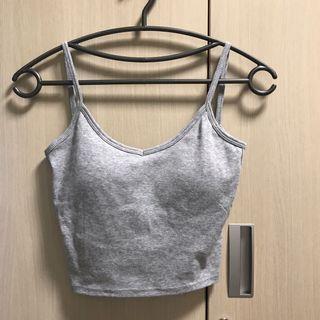 露背內含罩杯背心