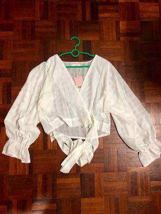 White Kimono Wrap