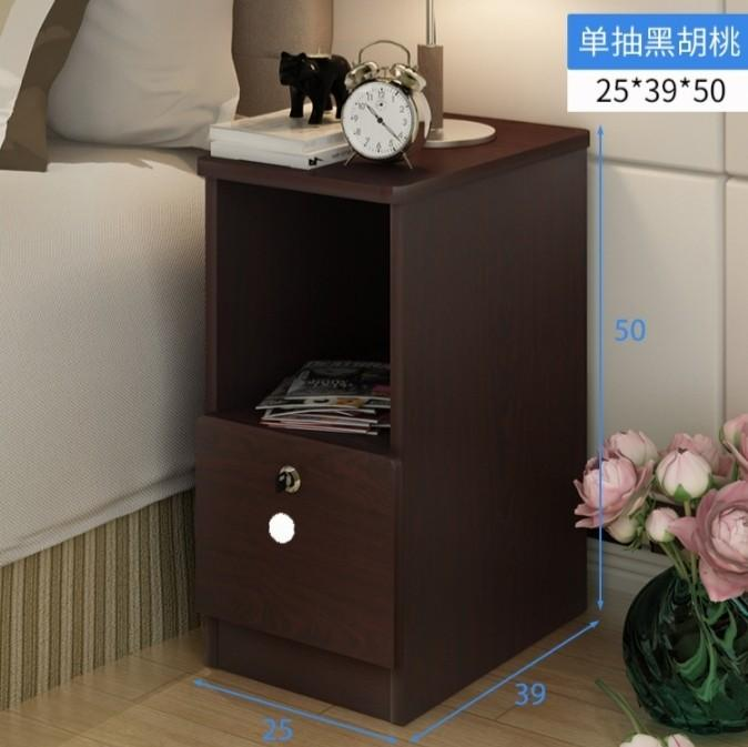 official photos 54c00 f5d87 25cm Width Bedside Table w lock DIY (Good for Space ...