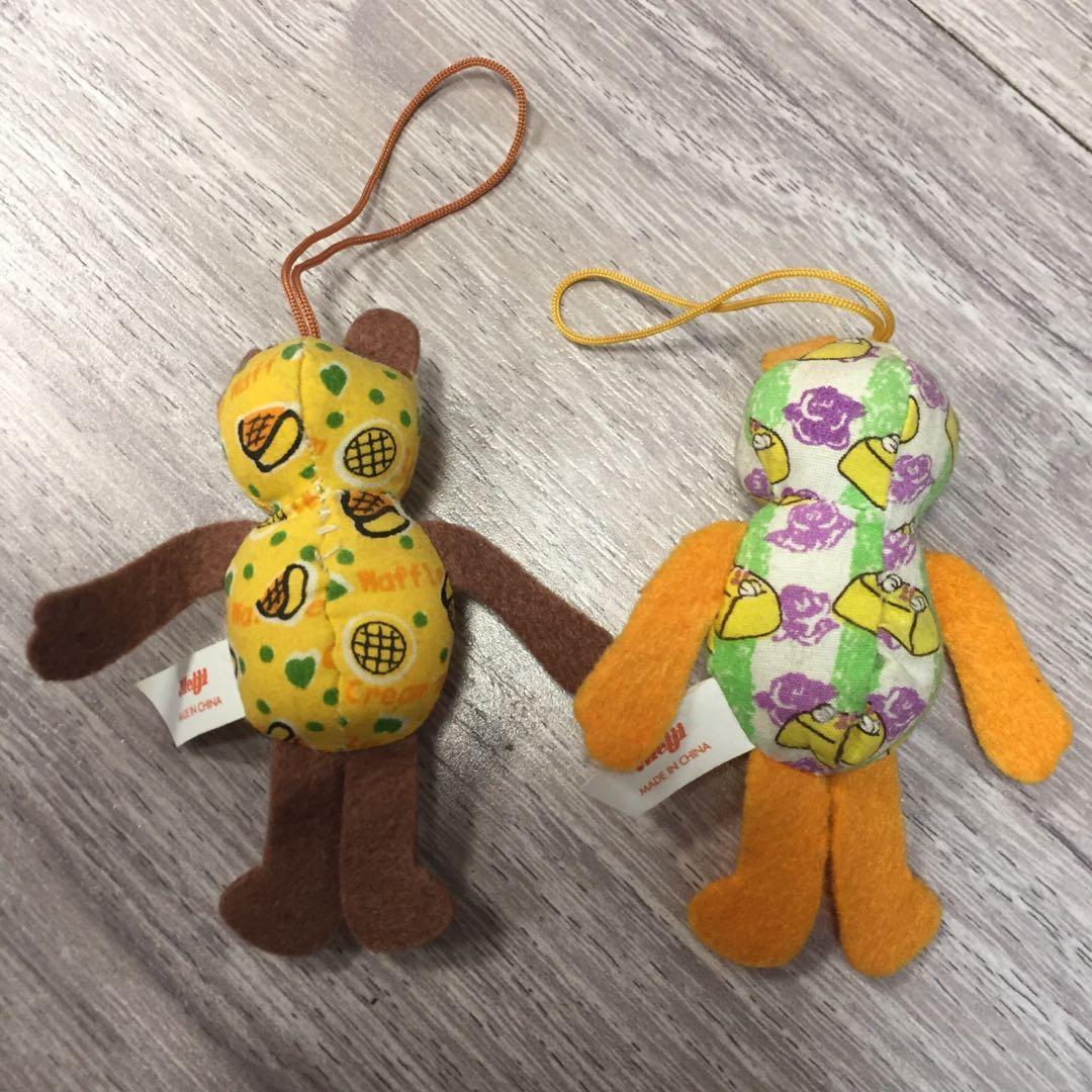 生日熊吊飾(2隻合售)