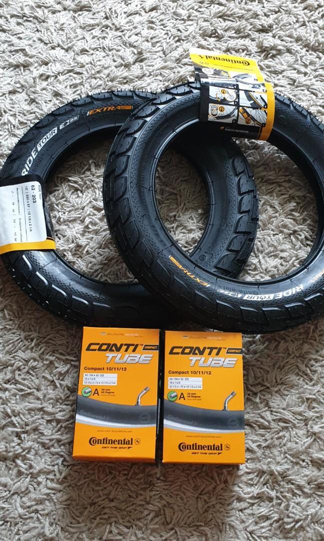♻️ Continental 12 inch tyre - dyu fiido tempo am