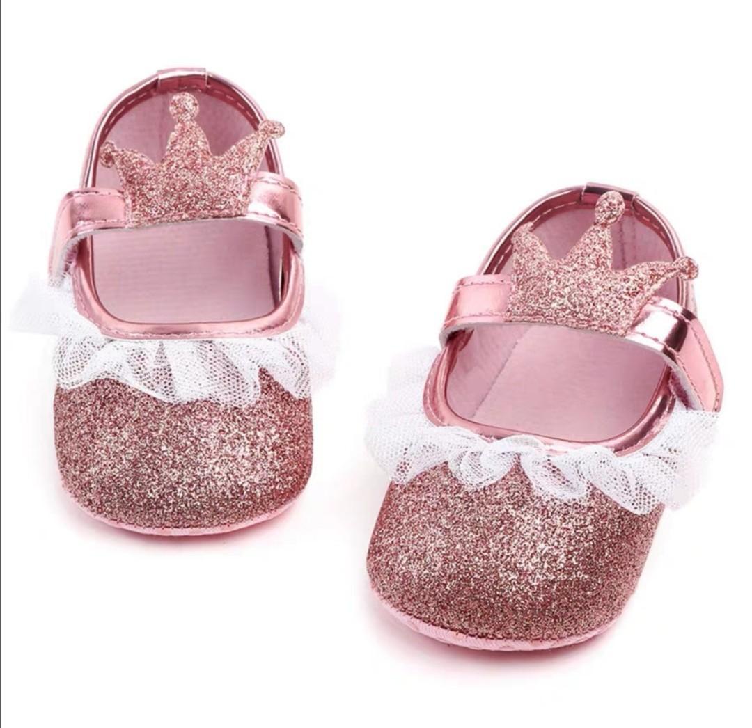 女童公主款式嬰兒鞋