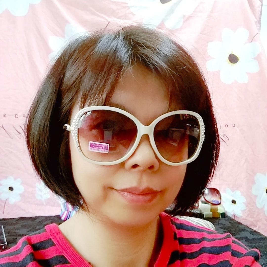 時尚太陽眼鏡 鑲施華洛鑽 全新