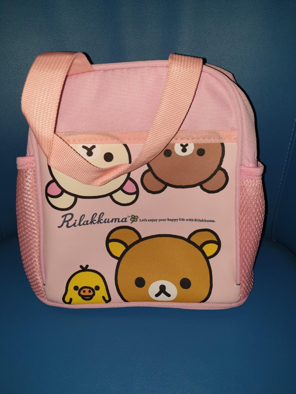 拉拉熊 便當盒 隨手袋 萬用袋 環保袋