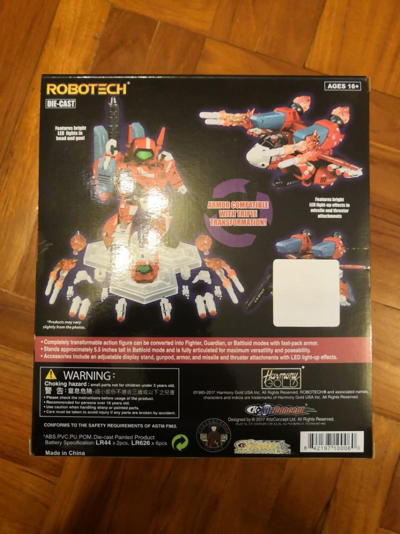 全新(未開過)超時空要塞( Macross )- Q 版米拿 Robotech