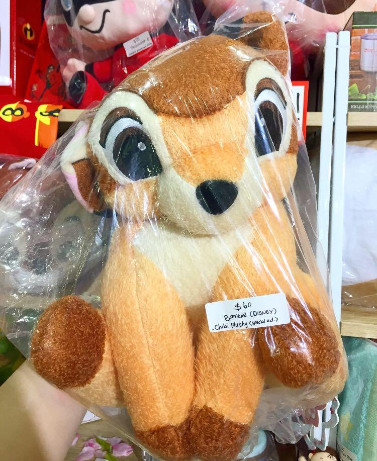 🍂 New Disney Bambi - Chibis Special Plushy (Japan) 🍁