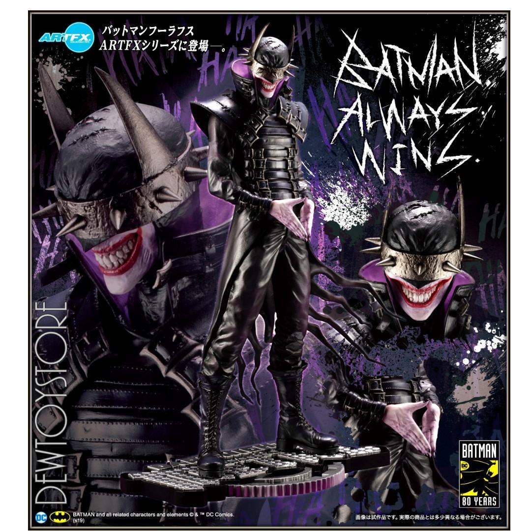 ⭐️ [Pre-order] Kotobukiya ARTFX 1/6 Scale Statue DC Comics Elseworld - Dark Knights: Metal : Dark Knights Rising - Batman Who Laughs ⭐️