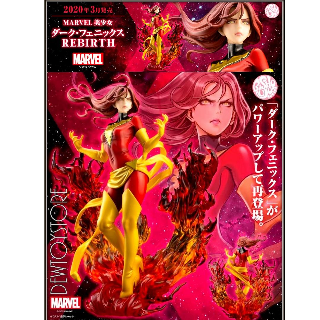⭐️ [Pre-order] Kotobukiya Bishoujo 1/7 Scale Statue Marvel : X-Men - Dark Phoenix Rebirth ⭐️