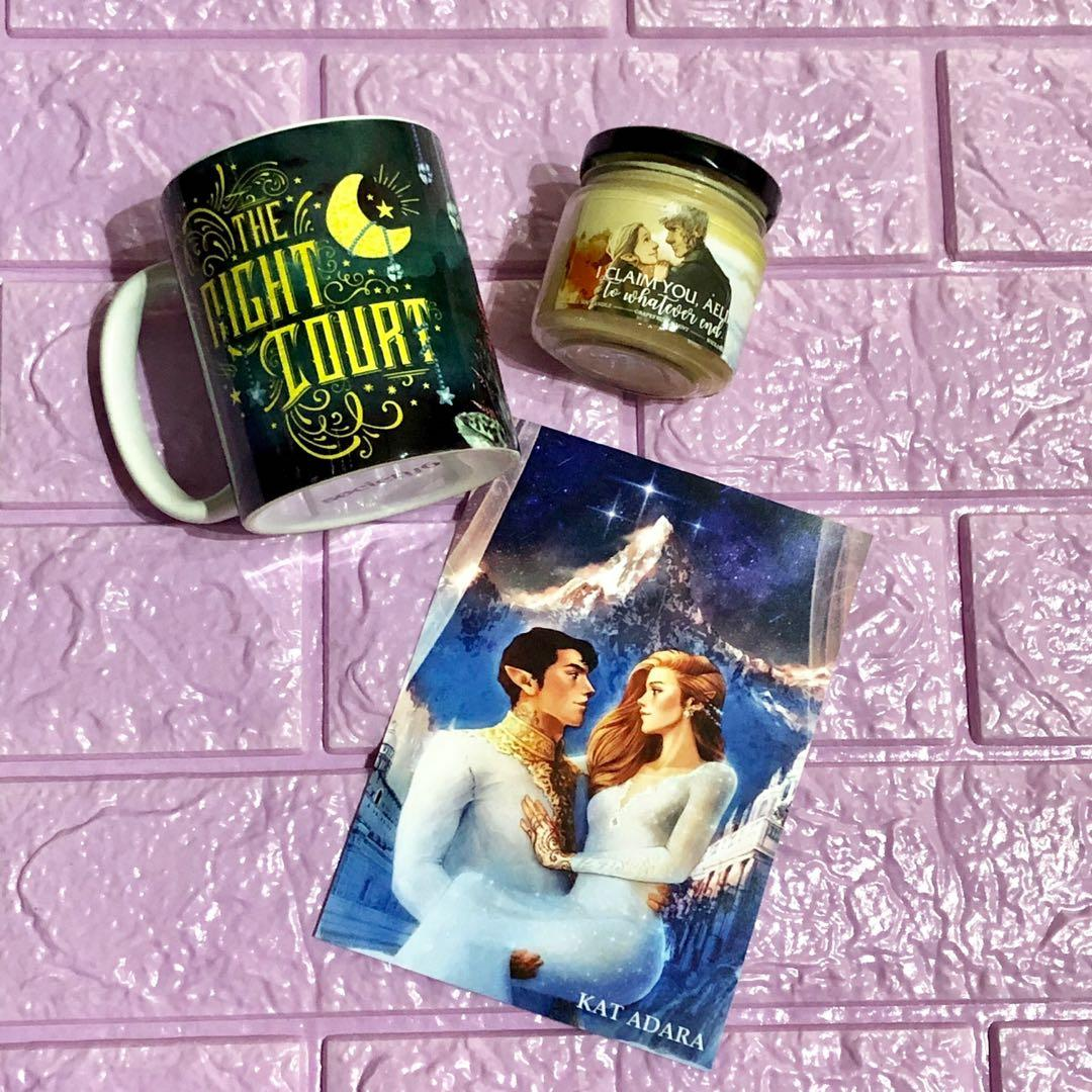 A court of thorns and roses ACOTAR throne of glass merch BUNDLE sarah j. Maas on hand from international shops