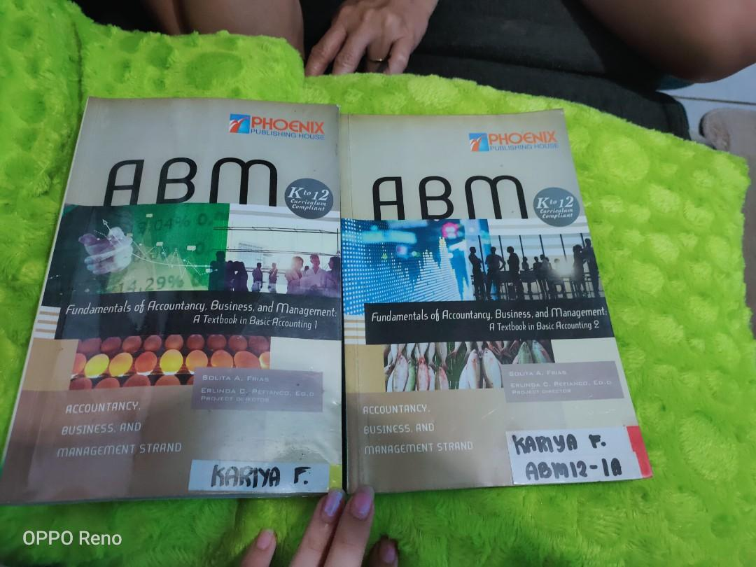 ABM Fundamentals of Accountancy, Business and Management A Textbook in Basic Accounting 2