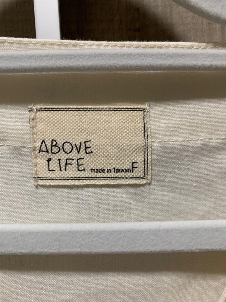 Above life米白色挺版洋裝