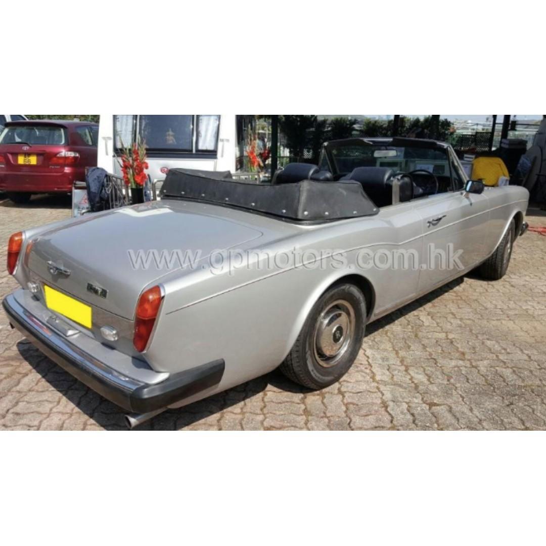 (價錢面議)Rolls Royce Corniche (Code 3788)