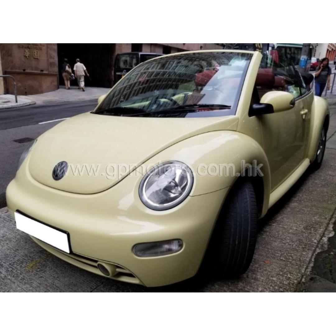 Volkswagen BEETLE 2.0 CAB (Code 3787)