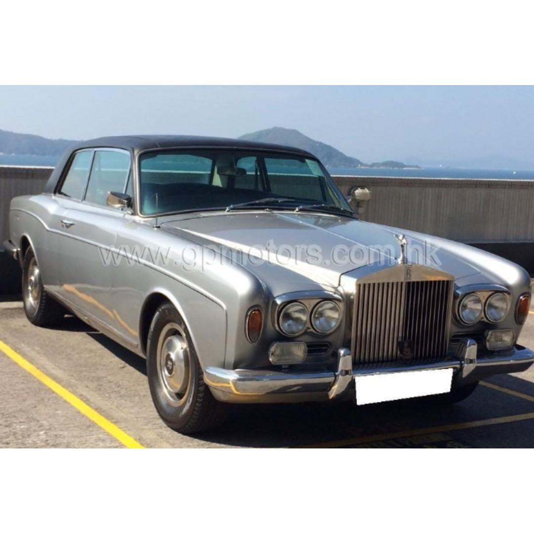 (價錢面議)Rolls Royce Corniche ( HARD TOP ) (Code 3780)