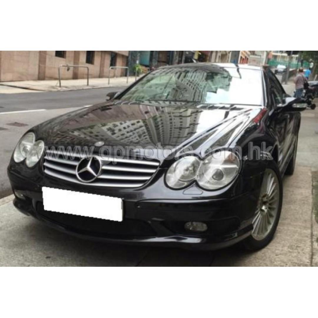 Mercedes-Benz SL 55 AMG (Code 3779)