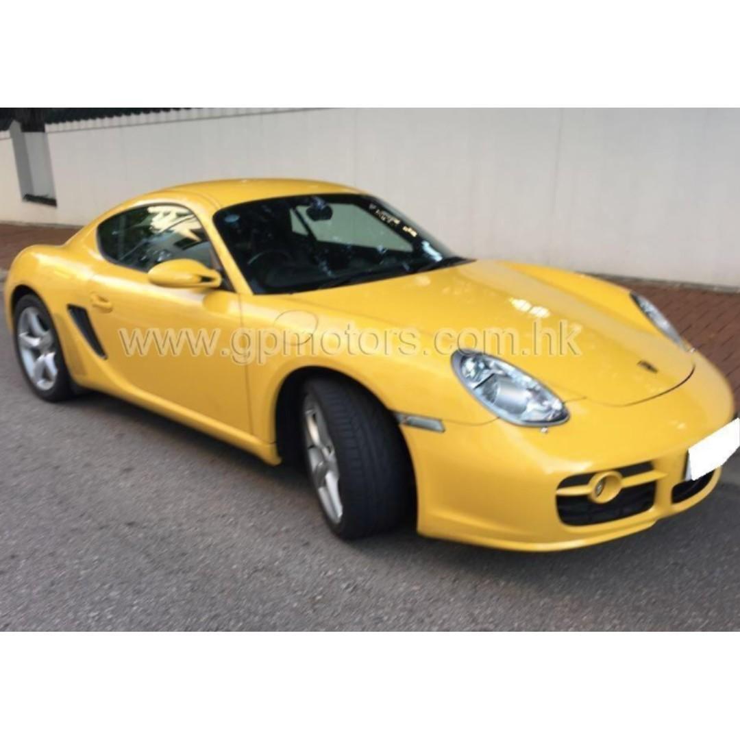 Porsche Cayman S (Code 3767)