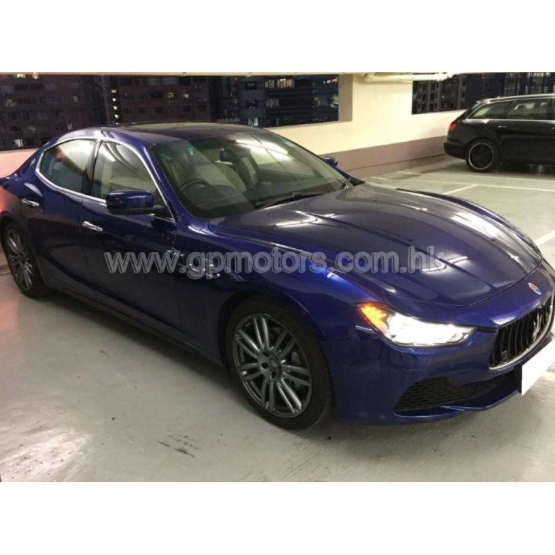 Maserati GHIBLI (Code 3765)
