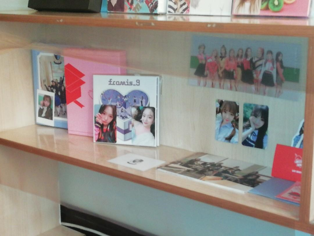 Album clearance, seventeen, fromis_9, apink, shinee