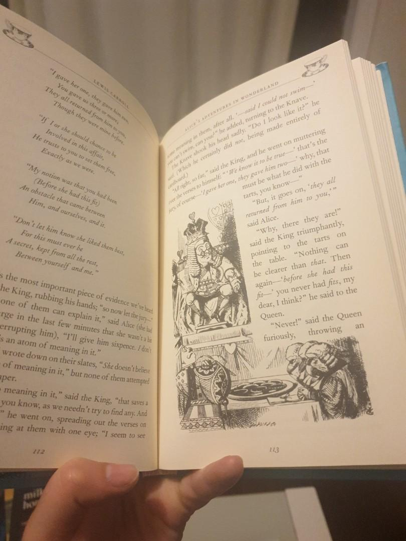 Alice's Adventures of Wonderland and Through the looking glass